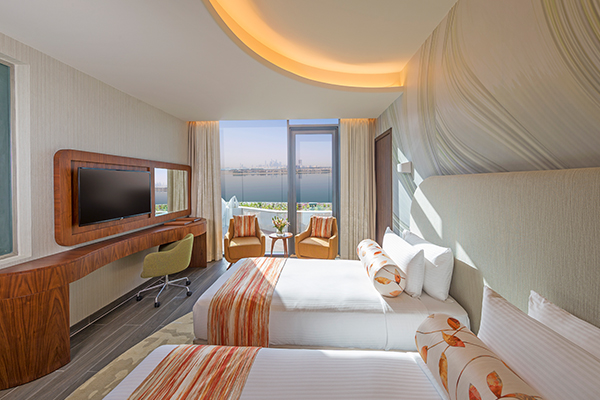 Penthouse Suite, Club Lounge And Beach Access, King Size Bed, Rooftop Terrace, Palm Sea View-room