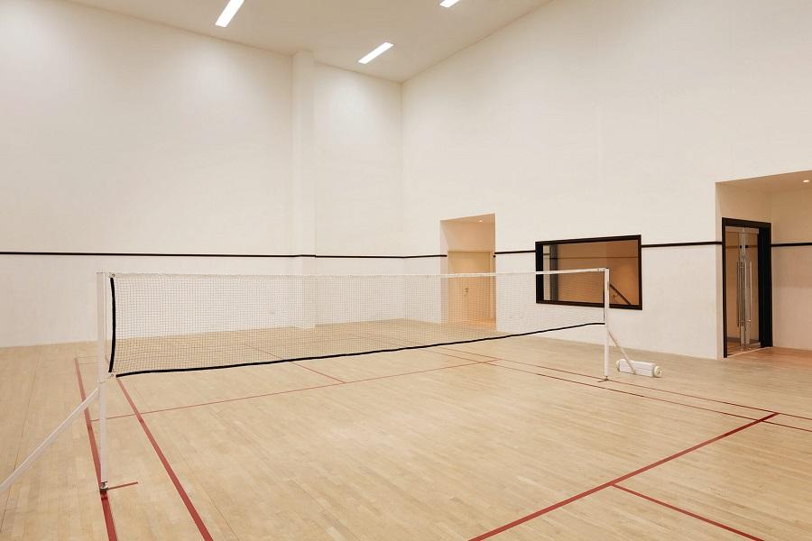 Gym and Badminton-slider